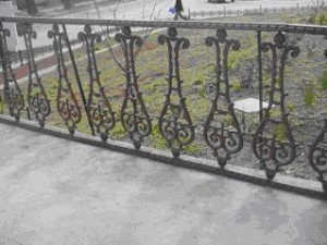 ограда Амфора